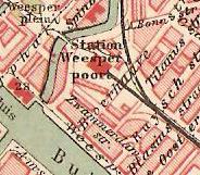 situatie in 1901