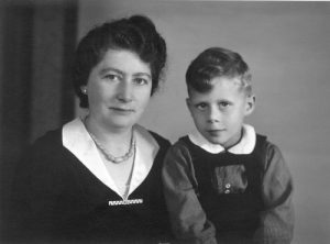 Werner Klaber and his mother Ilse