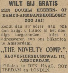 kloveniersburgwal137novelty
