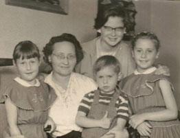 Mirjam (14) in het pleeggezin in 1955