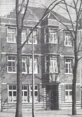 Gebouw Weteringschans 259-261 na de verbouwing (1928)