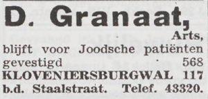 granaatkloveniersburgwal
