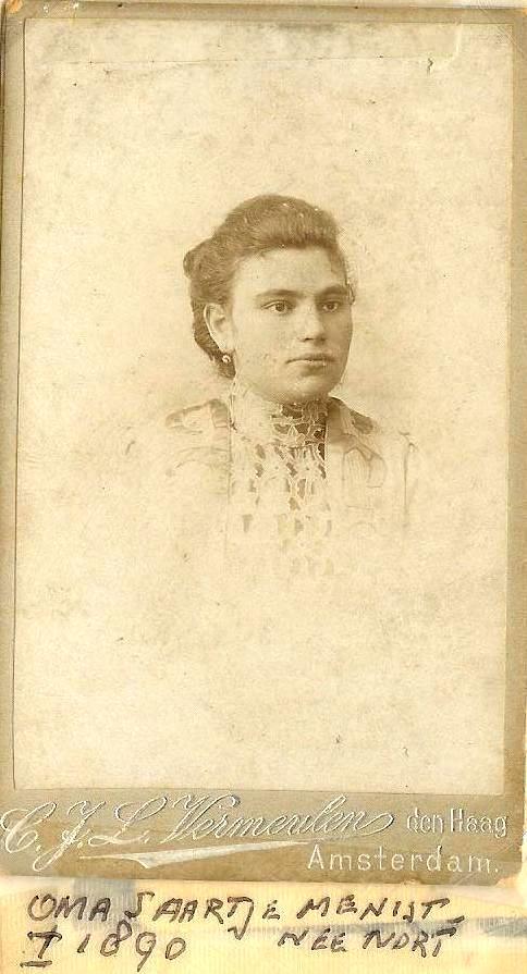 grootmoeder Saartje voor de oorlog