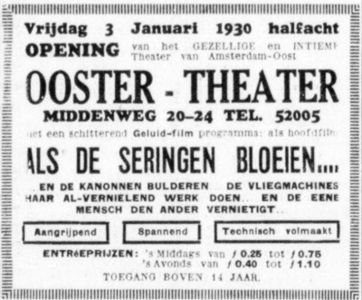 oostertheater