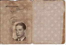 persoonsbewijs Joe de Haan
