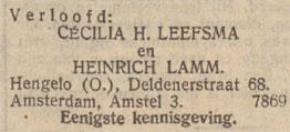 lammleesfmaverloving1934