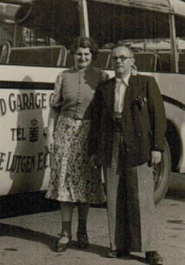 vader en moeder in 1939 in Parijs