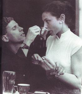 Hanny en Gerard, 1954, Parijs.