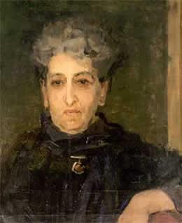 Aletta Jacobs (1919) door Isaac Israëls