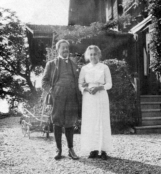 Arnold_(Sam)_Aletrino_(1858-1916)_met_vrouw_Jupie_-_Chalet_Georges-Maurice_-_Chernex_-_Montreux