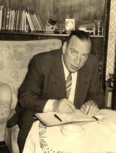 Oom Leendert, 1955
