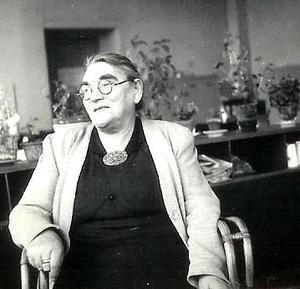 Grootmoeder Saartje na de oorlog